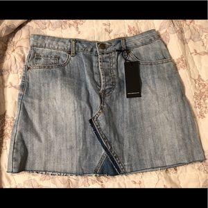 Jean skirt brand new